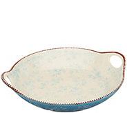Temp-tations Floral Lace Round Centerpiece Platter - K47308