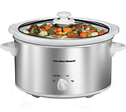 Hamilton Beach 4-Quart Slow Cooker - K375609