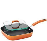 Rachael Ray Classic Brights Nonstick 11 Deep Griddle & Press - K380709