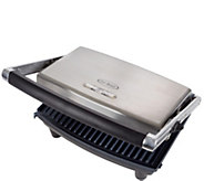 Chef Buddy Panini Press Grill & Gourmet Sandwich Maker - K378310