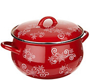 Temp-tations Floral Lace 8qt Belly Stockpot - K46210