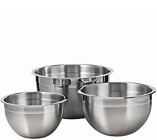 Tramontina Gourmet Stainless Steel 3-Piece Mixing Bowl