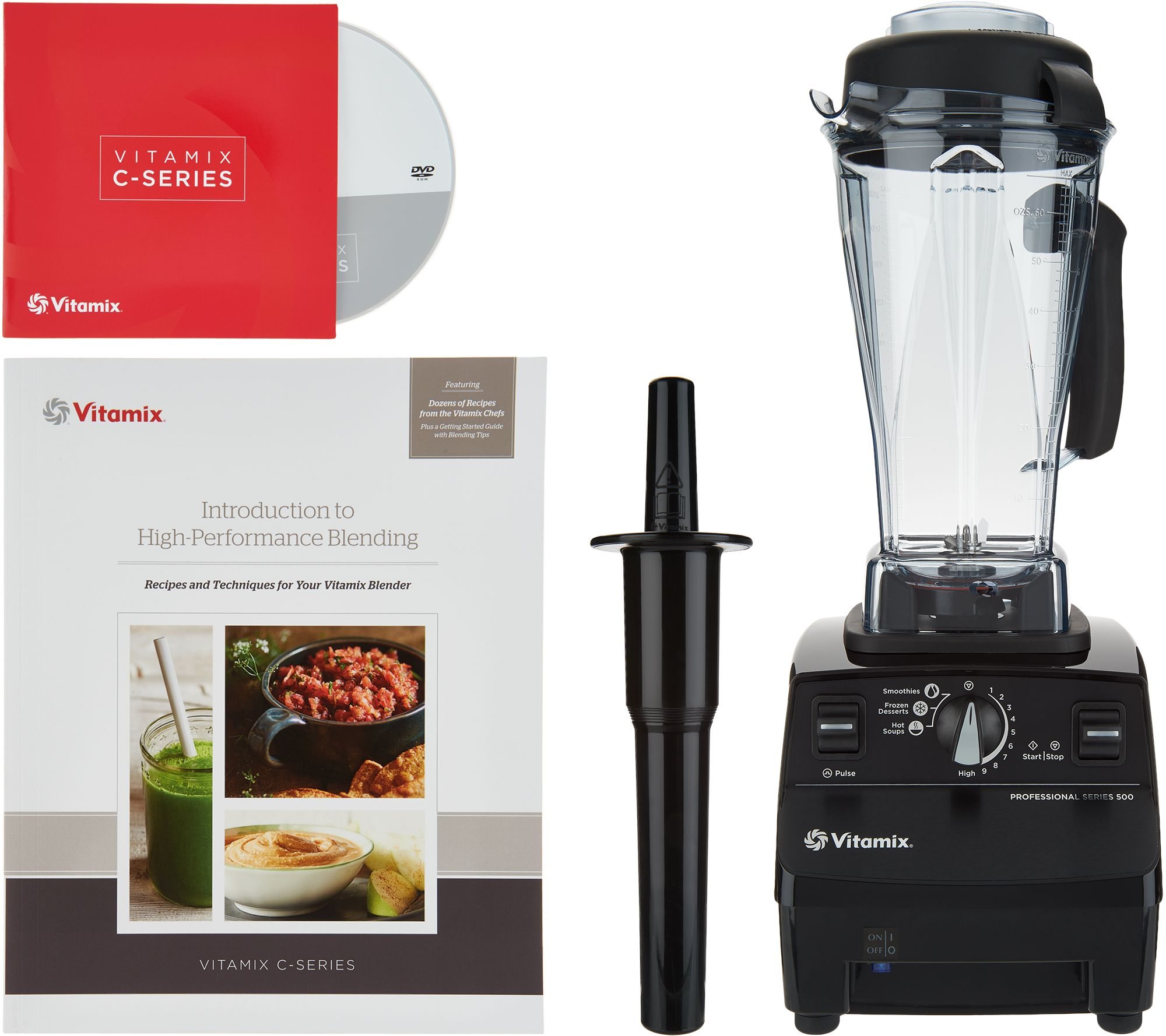 Vitamix Pre Programmed Variable Speed Pro Series 500 64oz  Blender — QVC com