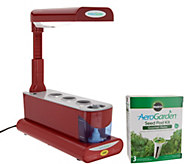 Miracle-Gro AeroGarden Sprout 3-Pod Garden with Herb Seed Kit - K48211