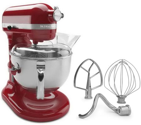 Fabulous Kitchenaid 6 Qt Pro Stand Mixer Qvc Com Download Free Architecture Designs Scobabritishbridgeorg