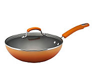Rachael Ray Hard Enamel 11 Soup, Sauce & SautePan - Orange - K298613