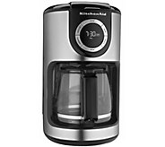 KitchenAid 12-Cup Glass Carafe Coffee Maker - K304213