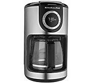 KitchenAid 12-Cup Glass Carafe Coffee Maker - K304213