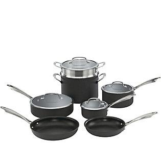Cuisinart Hard-Anodized Nonstick 11-Piece Cookware Set