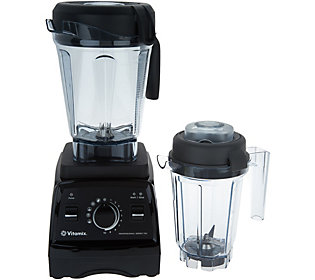 Vitamix Professional Series 750 Self-Cleaning Programmable Blender with 64 oz. Container (Various Colors) + Vitamix 32 Ounce Container