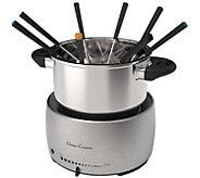 Classic Cuisine Stainless Steel Fondue Pot Set - K378314