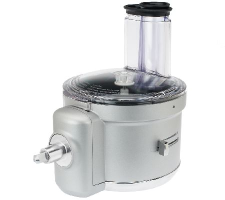 kitchenaid premium food processor stand mixer attachment page 1