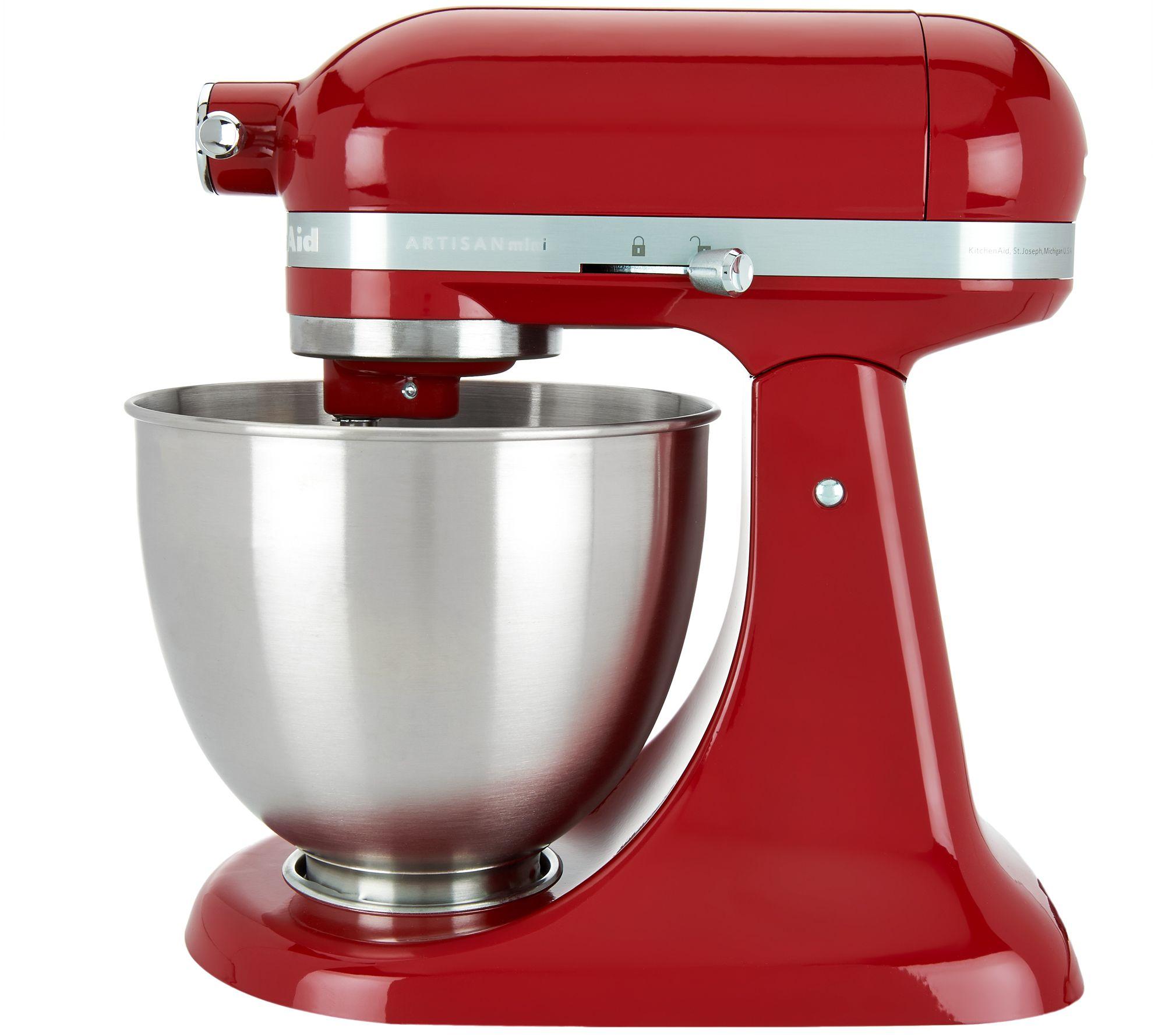 KitchenAid 3.5qt. Artisan Stand Mixer With Flex Edge Beater   Page 1 U2014  QVC.com