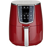 Cooks Essentials 4-qt Digital Air Fryer with Pans - K47615