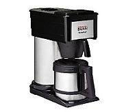 BUNN BTX-B ThermoFresh 10-Cup Home Carafe Coffee Brewer - K121116