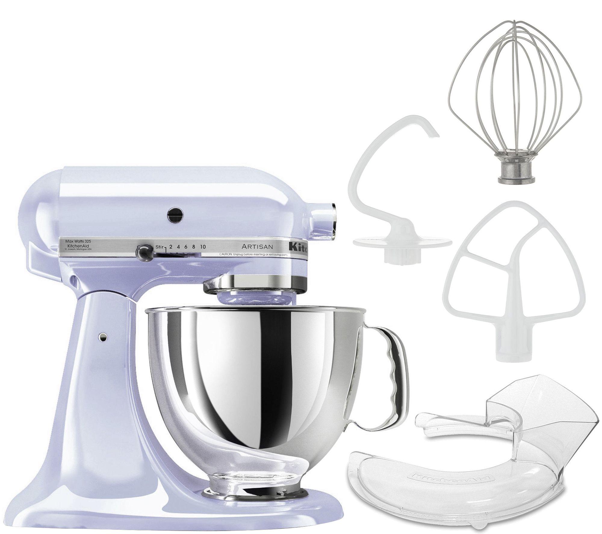 KitchenAid Artisan 5-qt Tilt-Head Mixer — QVC.com