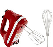 KitchenAid 5-Speed Ultra Power Hand Mixer w/ Wire Pro Whisk - K46716