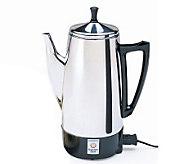 Presto 12-cup Stainless Steel Perk Coffee Maker - K129217