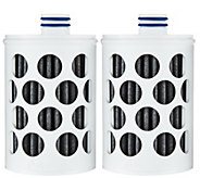 Set of 2 Water Filters for Aquasana Active Water Bottle - K44517