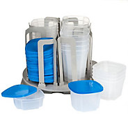 Chef Buddy Swirl Around 49-Piece Food Storage Organizer - K306318