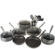 All-Clad Hard Anodized Nonstick 17-Piece Cookware Set - K47618