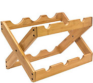 Sorbus Bamboo Countertop 6-Bottle Wine Rack - K306120