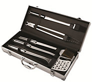 Kuhn Rikon Five-Piece Barbecue Stainless Steel Set - K305421
