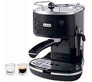 DeLonghi Icona 15-Bar Pump Driven Espresso Machine & 2 Glasses - K376921