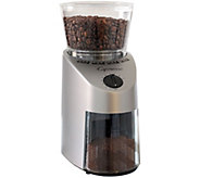 Capresso Infinity Coffee Grinder-Stainless - K132222