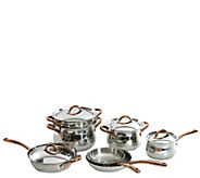 BergHOFF Ouro Gold 18/10 Stainless Steel 11-Piece Cookware Se - K376823
