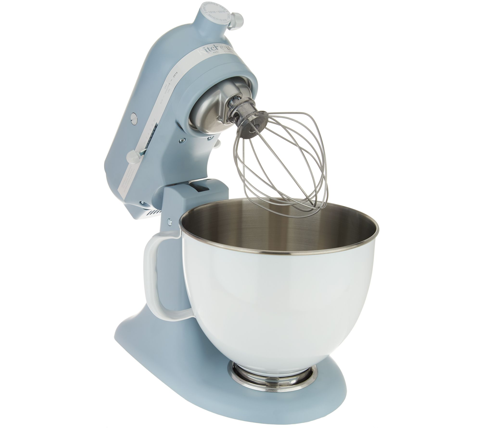 Kitchenaid 100 Year Limited Edition 5 Qt Stand Mixer Page 1 Qvc Com