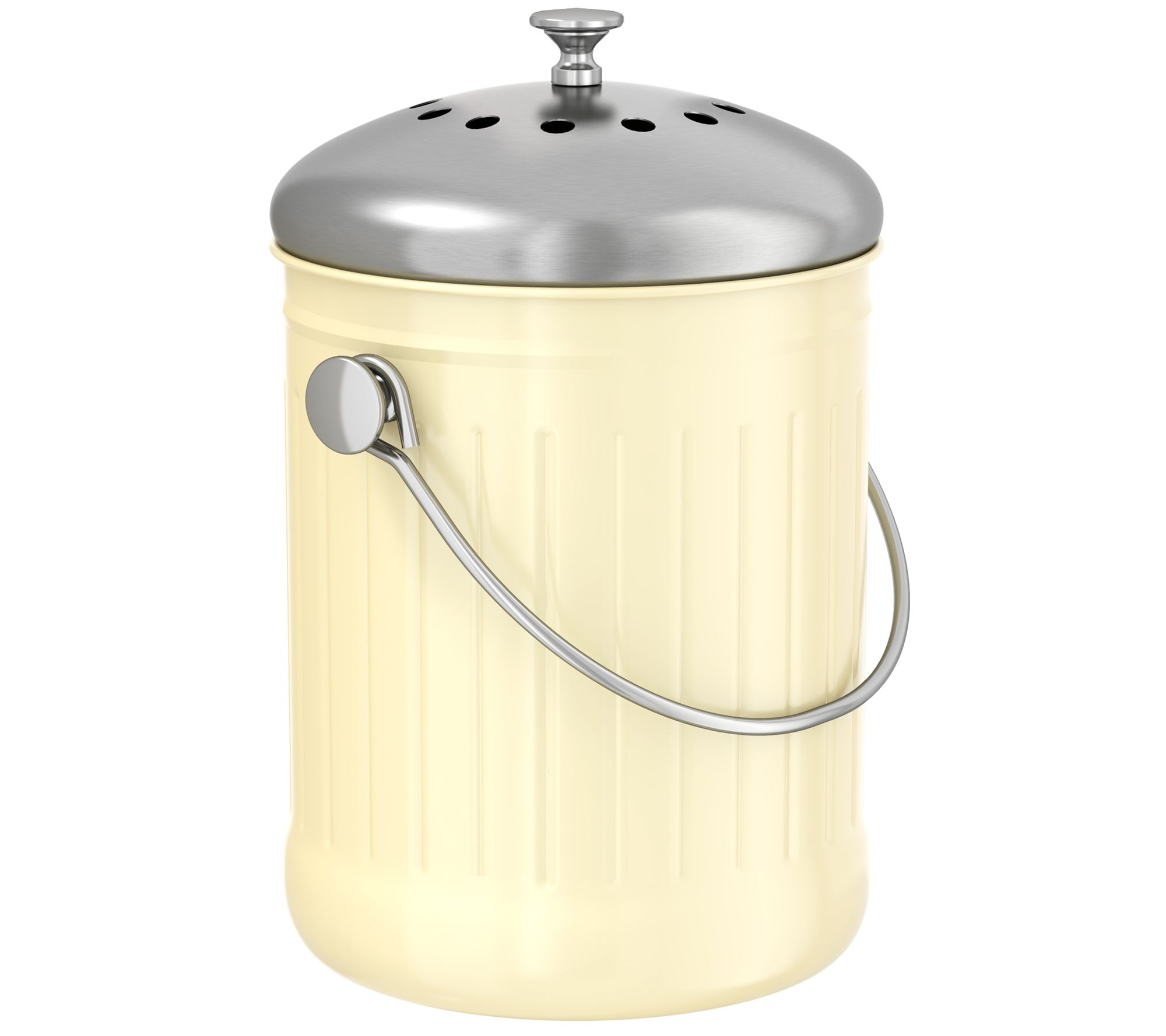 iTouchless 1.3-Gallon Kitchen Compost Bin — QVC.com