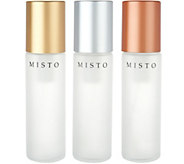 Misto Set of 3 3oz. Glass Non-Aerosol Oil Misters - K46424