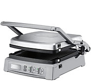 Cuisinart Griddler Deluxe - Brushed Stainless Steel - K305325