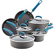 Rachael Ray 10-Pc Hard-Anodized Aluminum Nonstick Cookware Se - K375325