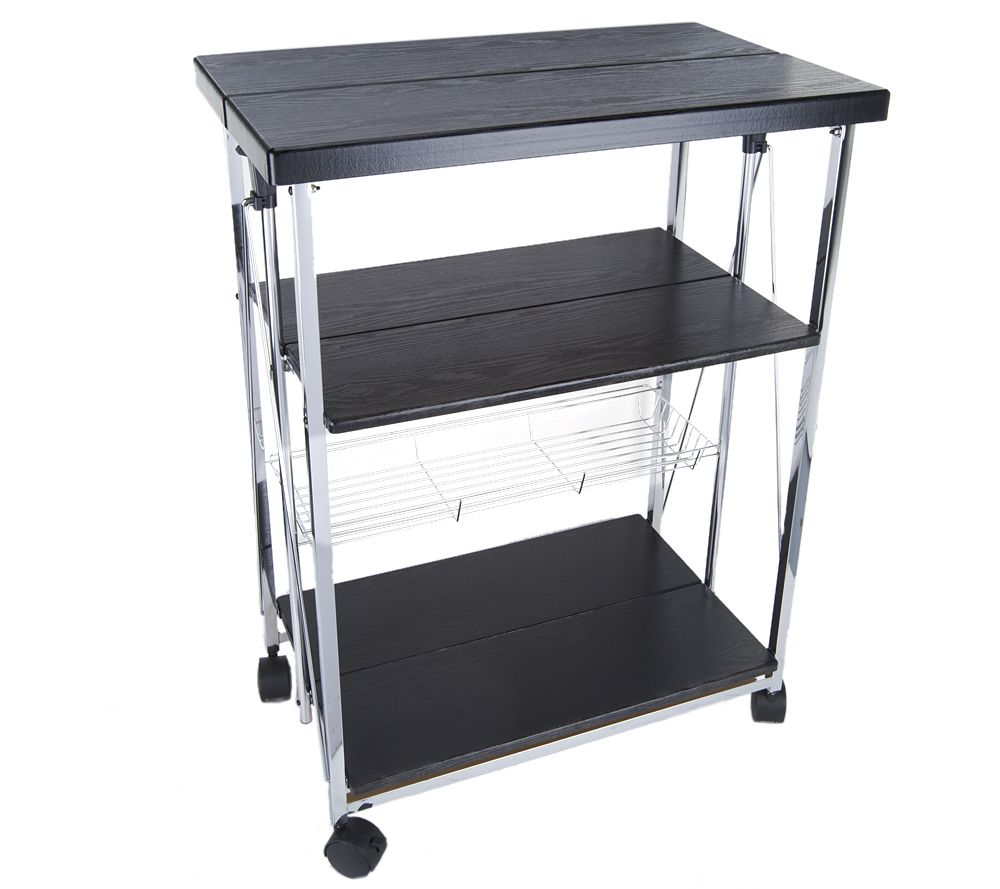 Foldable 4-Tier Kitchen/ Entertainment Cart and Server - Page 1 ...