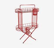 Temp-tations Tableside Butler Cart with Prep Caddies - K48225