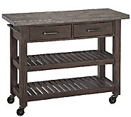 Home Styles Concrete Chic Indoor/Outdoor Kitchen Cart - K303626