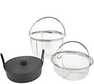 CooksEssentials Stainless Steel Insert for 6qt Pressure Cookers - K44726