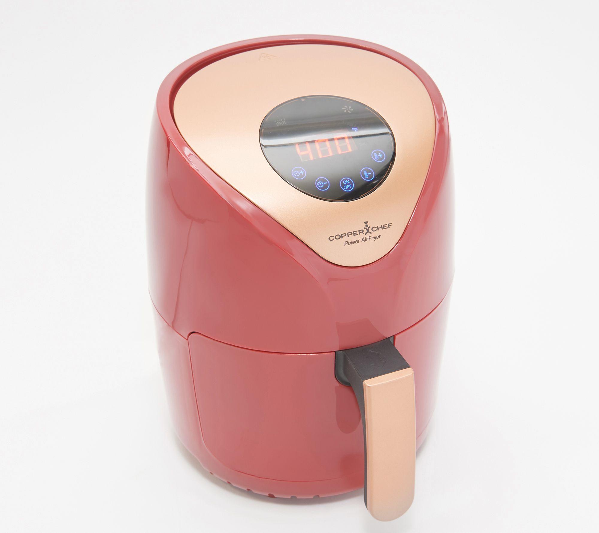 Copper Chef Power 2-qt 1000W Digital Air Fryer w/ Touch Screen — QVC com