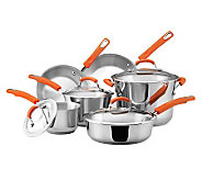 Rachael Ray Stainless Steel II Cookware Set - K298827