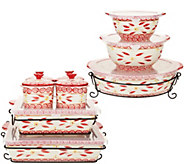 Temp-tations Old World 16-Piece Bakeware Set - K46028