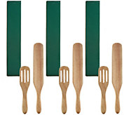 Mad Hungry Set of 3 (2) piece Spurtle Set - K46428