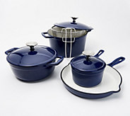 Cooks Essentials 8-Piece Cast-Iron Cookware Set - K47728