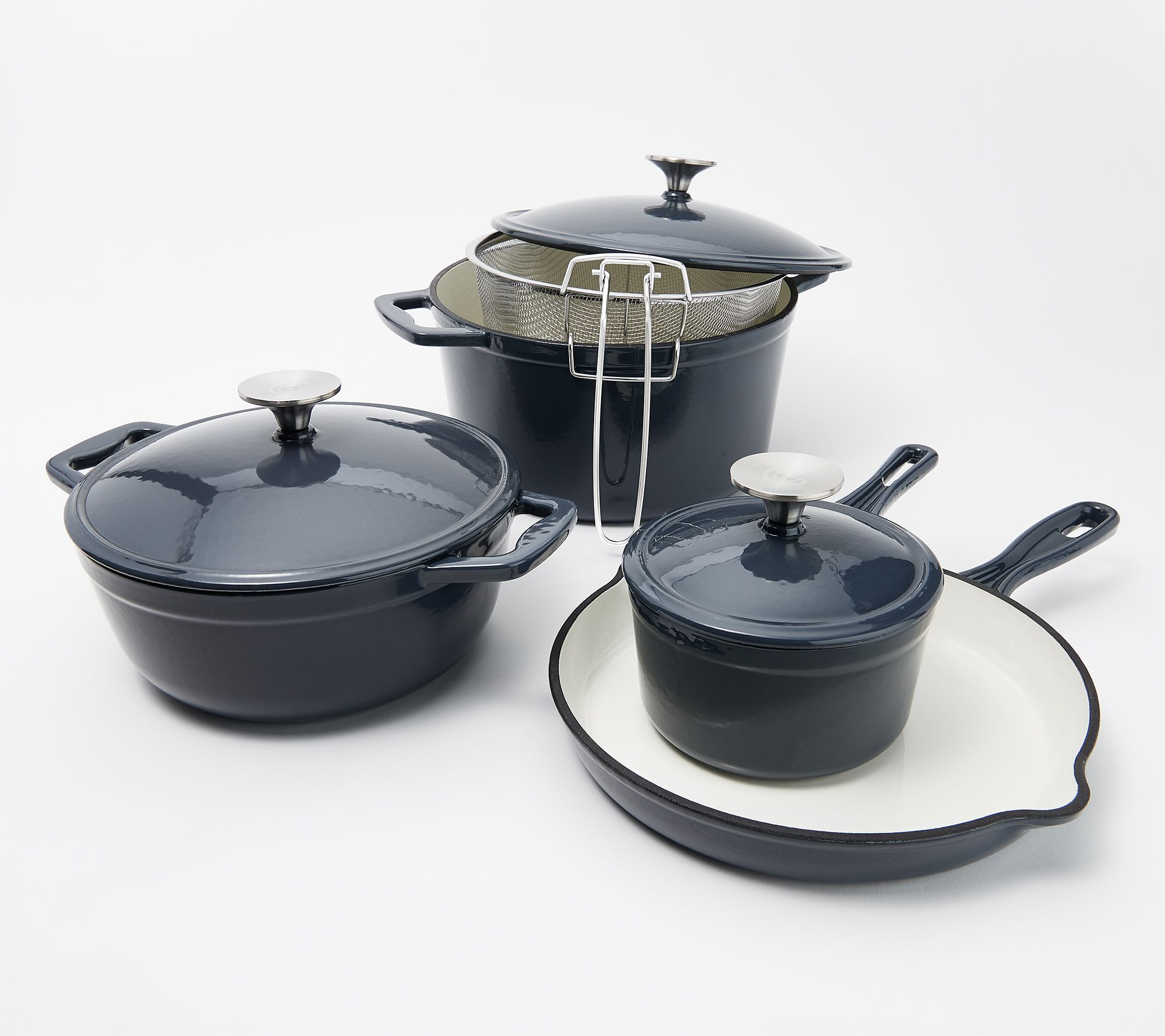 8 Piece Cast Iron Cookware Set