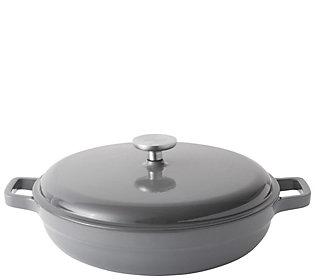 BergHOFF Gem 3.9-qt Cast-Iron Covered Saute Pan