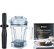 Vitamix Aer Disc 6-in-1 32-oz Specialty Container with Recipe Book - K48229