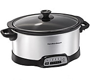Hamilton Beach Programmable 7-Quart Slow Cooker - K375630