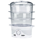 Kalorik 3-Tier Food Steamer - K302531