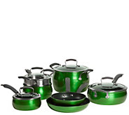 Epicurious Aluminum Nonstick 11-Piece Cookware Set - K305631